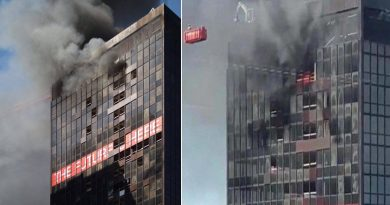 Alarma en Bruselas por incendio en torre del World Trade Center